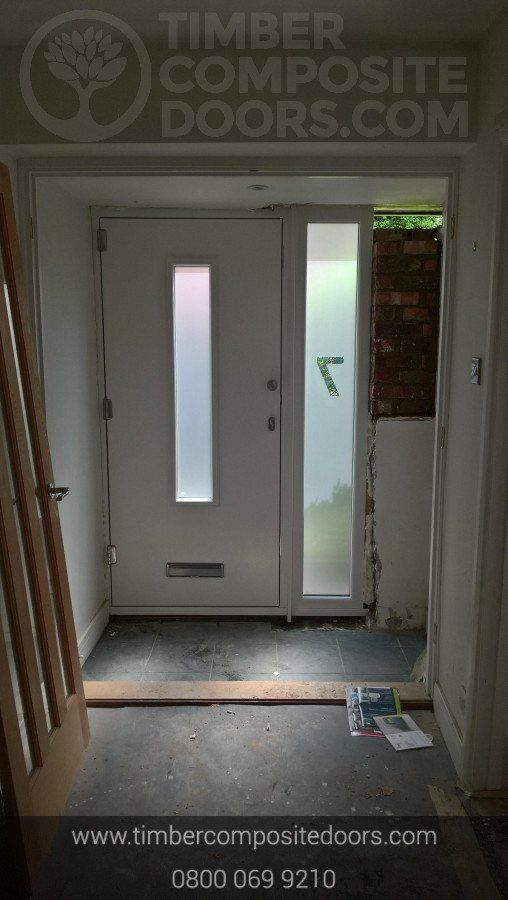 Solidor Monza Timber Composite Contemporary Door In 2020 Composite Door Contemporary Front Doors Contemporary Doors