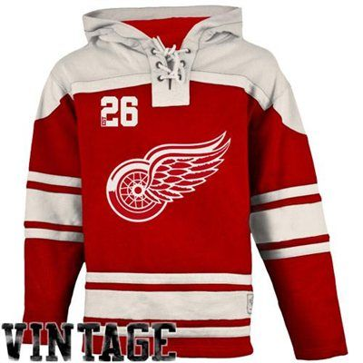 Old Time Hockey Detroit Red Wings Lace