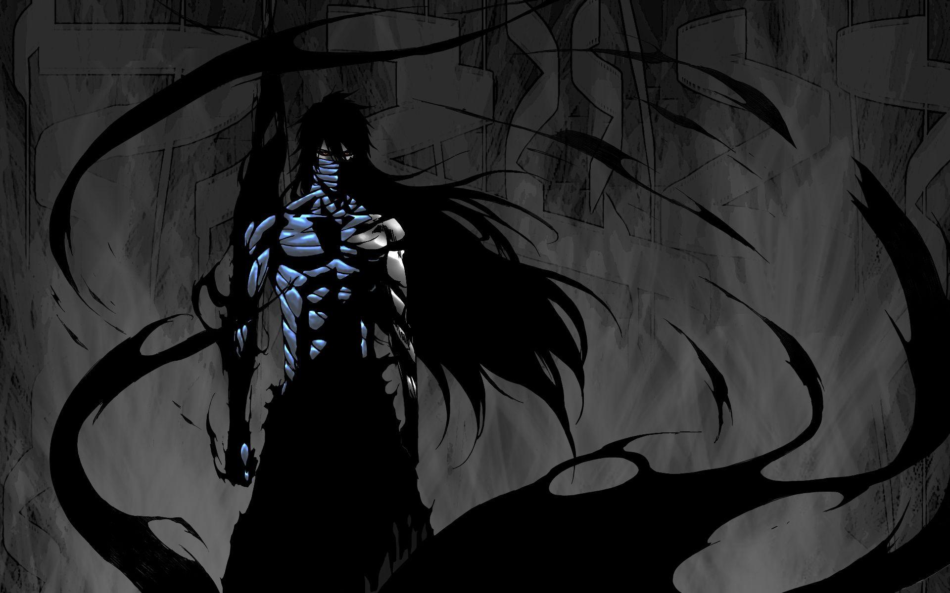 Ichigo Kurosaki Black Bleach Blue Cloud Dark Demon Final