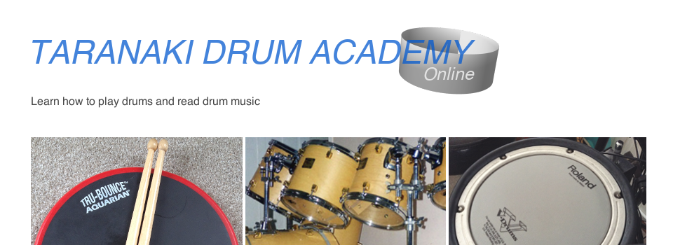 Learn to play drums and read drum music for free online