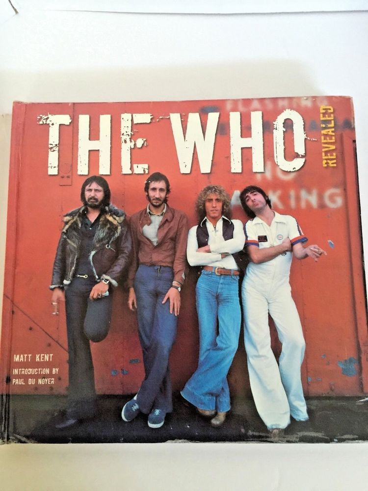 The Who From 1970 S Revealed Band Life History Book In Music Field