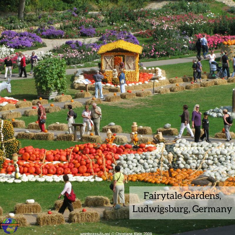Fairytale Gardens Ludwigsberg Germany