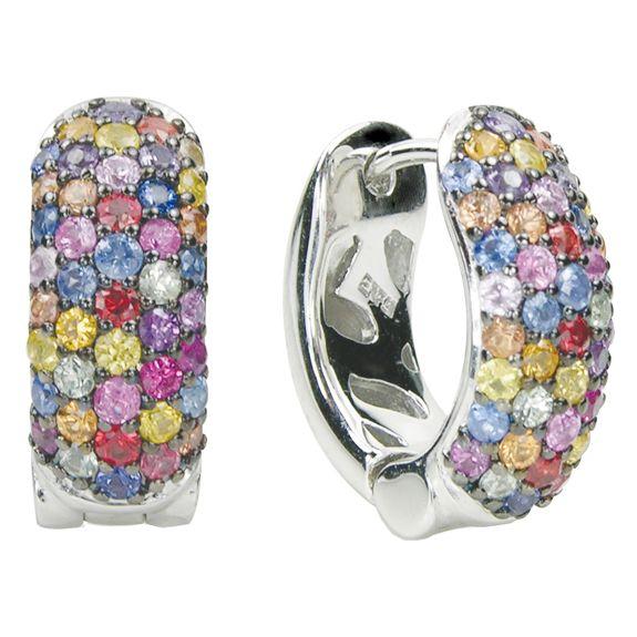 Effy Jewelers Balissima Multi Sapphire Earrings in