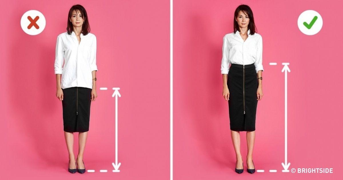 6 Stylist Tricks To Make You Appear Taller Short Girl Fashion Fashion Fashion Outfits