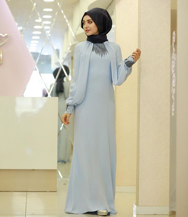 4a918d48c9750 Tesettürlü Sade ve Şık Söz - Nişan Abiye Elbise Modelleri | Tesettür  Elbiseleri -Tesettür Giyim Moda Trend Portalınız
