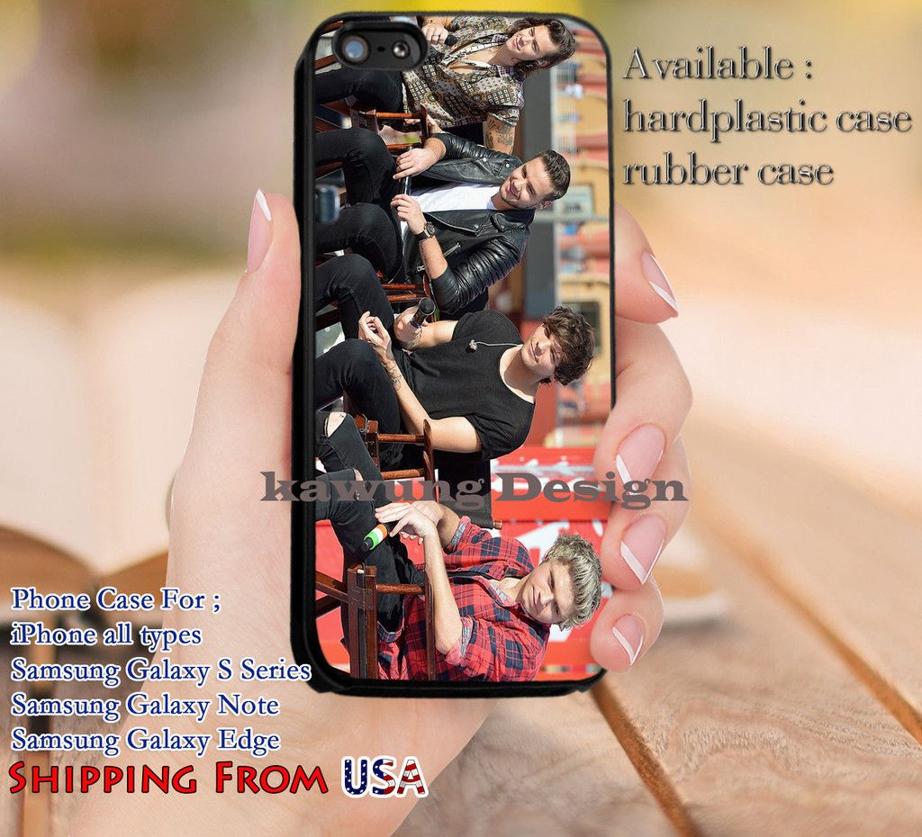 Without Zayn One Direction iPhone 6s 6 6s  5c 5s Cases Samsung Galaxy s5 s6 Edge  NOTE 5 4 3 #music #1d dl14
