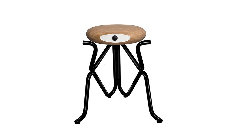 Phillip Grass MONOQI Childs Stool OakBlack Awesome - Companion stools phillip grass
