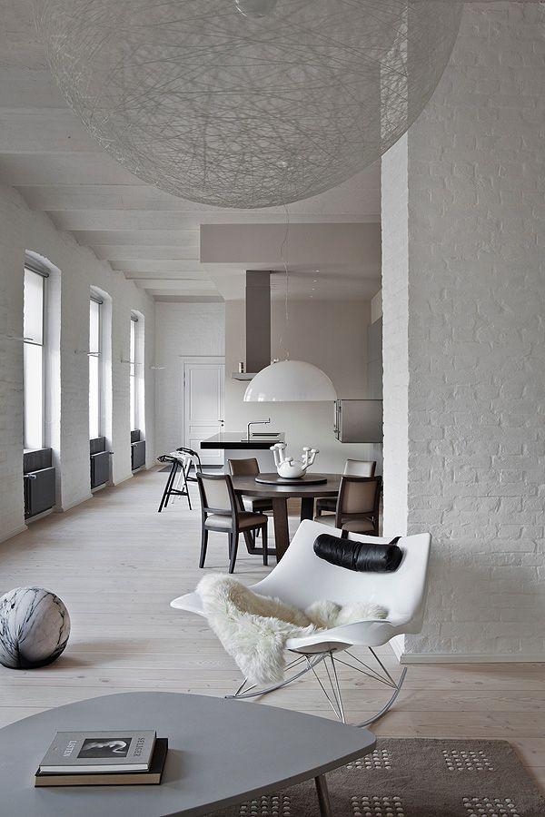 Pin von Sabrina Schilcher auf Great Interiors Pinterest Haus - bilder wohnzimmer schwarz weiss