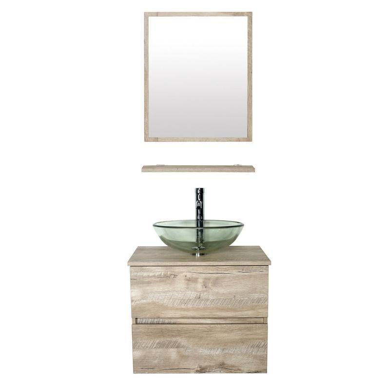 Ishower Complete Floating Vanity Set 24 Wall Mounted Etsy Bathroom Vanity Combo 24 Inch Bathroom Vanity Bathroom Vanity