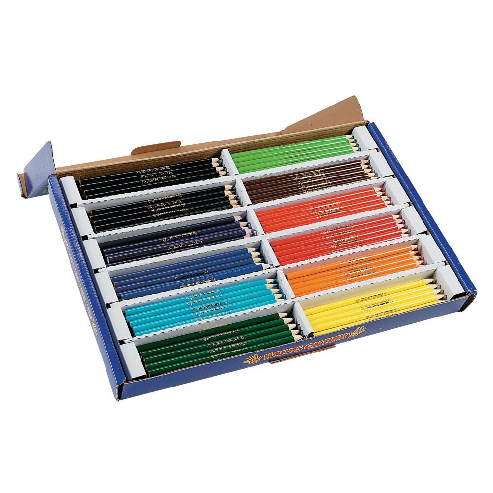 12 Color Cool Colored Pencils Classpack 240 Pc In 2020 Colored