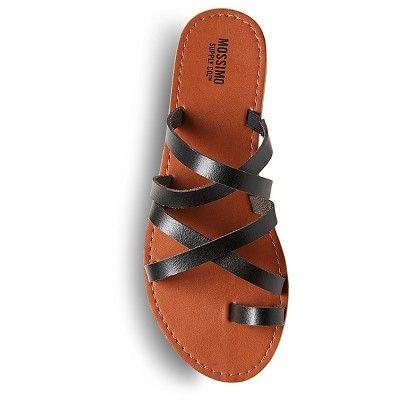 2a3deb095f9d98 Women s Lina Slide Sandals Mossimo Supply Co. - Black 9