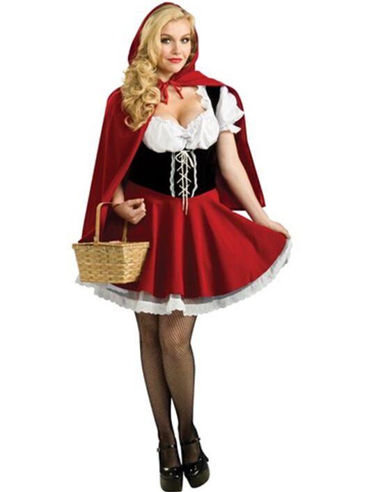 Disfraces de Halloween Para Las Mujeres Sexy Fantasy Cosplay Caperucita Roja  los Uniformes de juego de Vestido de Lujo Del Traje sml xl 2xl 3xl 4xl b54cdbe527aa