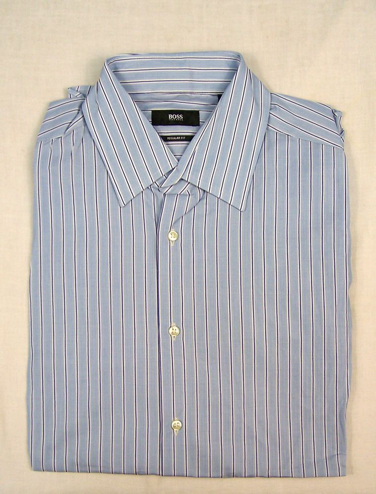 f2aed98a9 HUGO BOSS MENS REGULAR FIT SHIRT Size 41 / 16 #fashion #clothing #shoes  #accessories #mensclothing #shirts (ebay link)