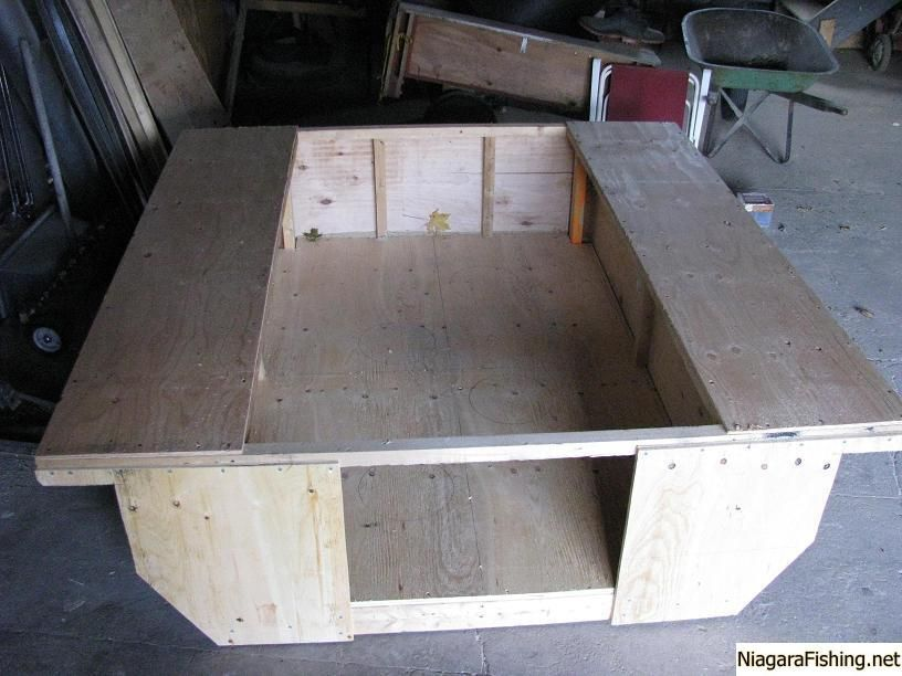 homemade portable ice fishing huts quotes | fishing | pinterest