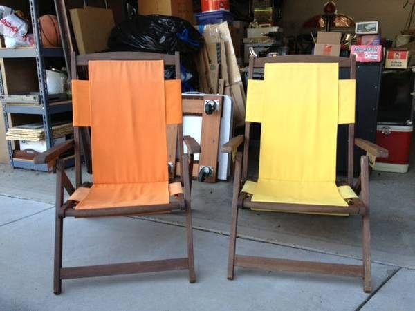 Vintage Beach Chairs Beach Chairs Chair Home Decor