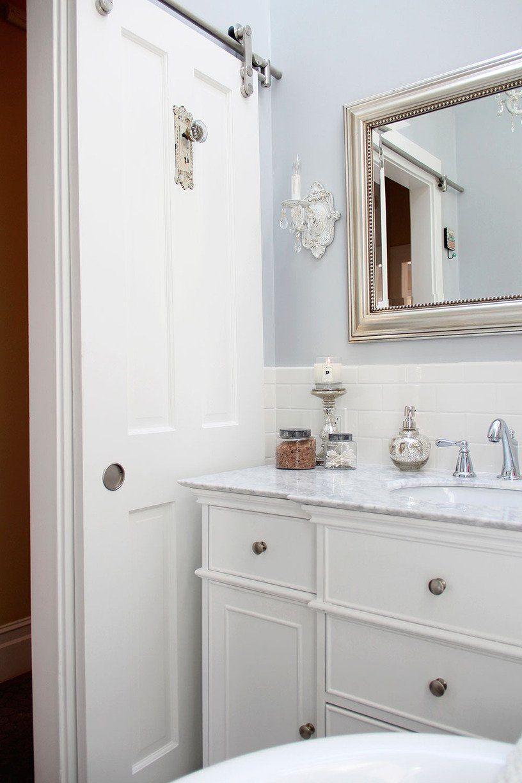 Awesome Sliding Door Bathroom Cabinet