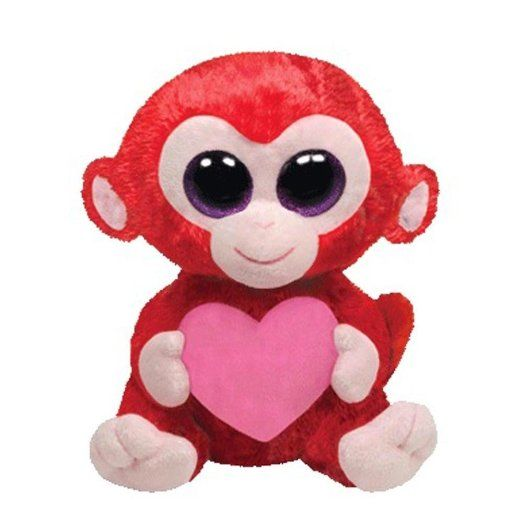 Ty Beanie Boos Charming - Monkey Medium