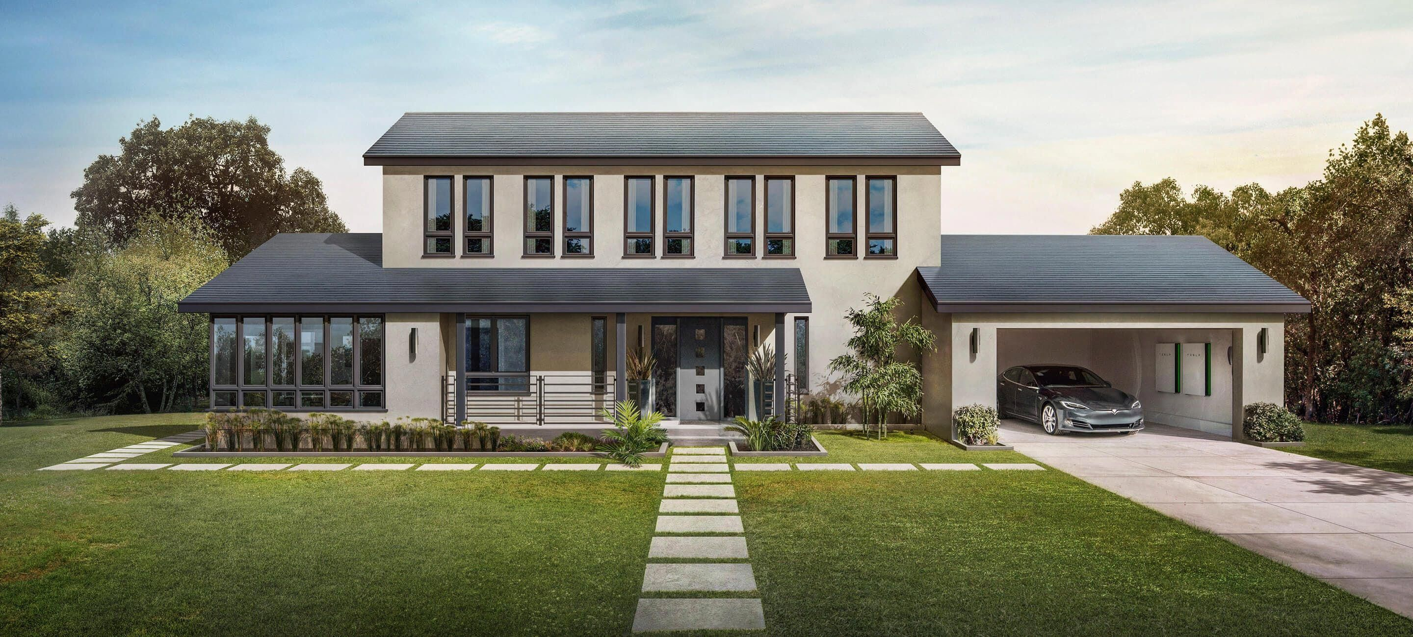 Tesla S Solar Roof Tiles Are Cheaper Than A Normal Roof Must Have For Our Off The Grid House In 2020 Tesla Solar Roof Best Solar Panels Solar Panels