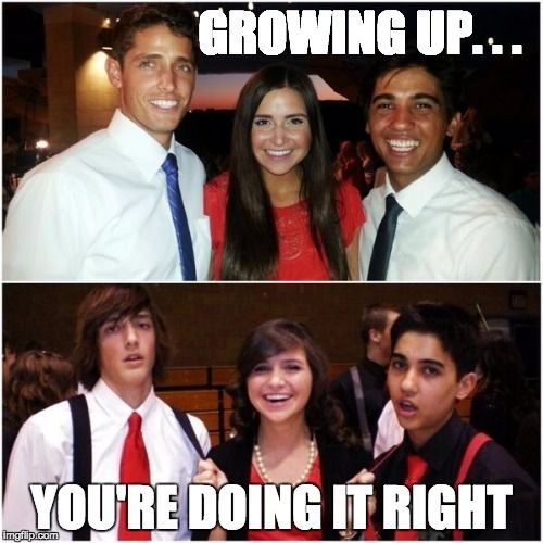 growing up you re doing it right memes pinterest memes r