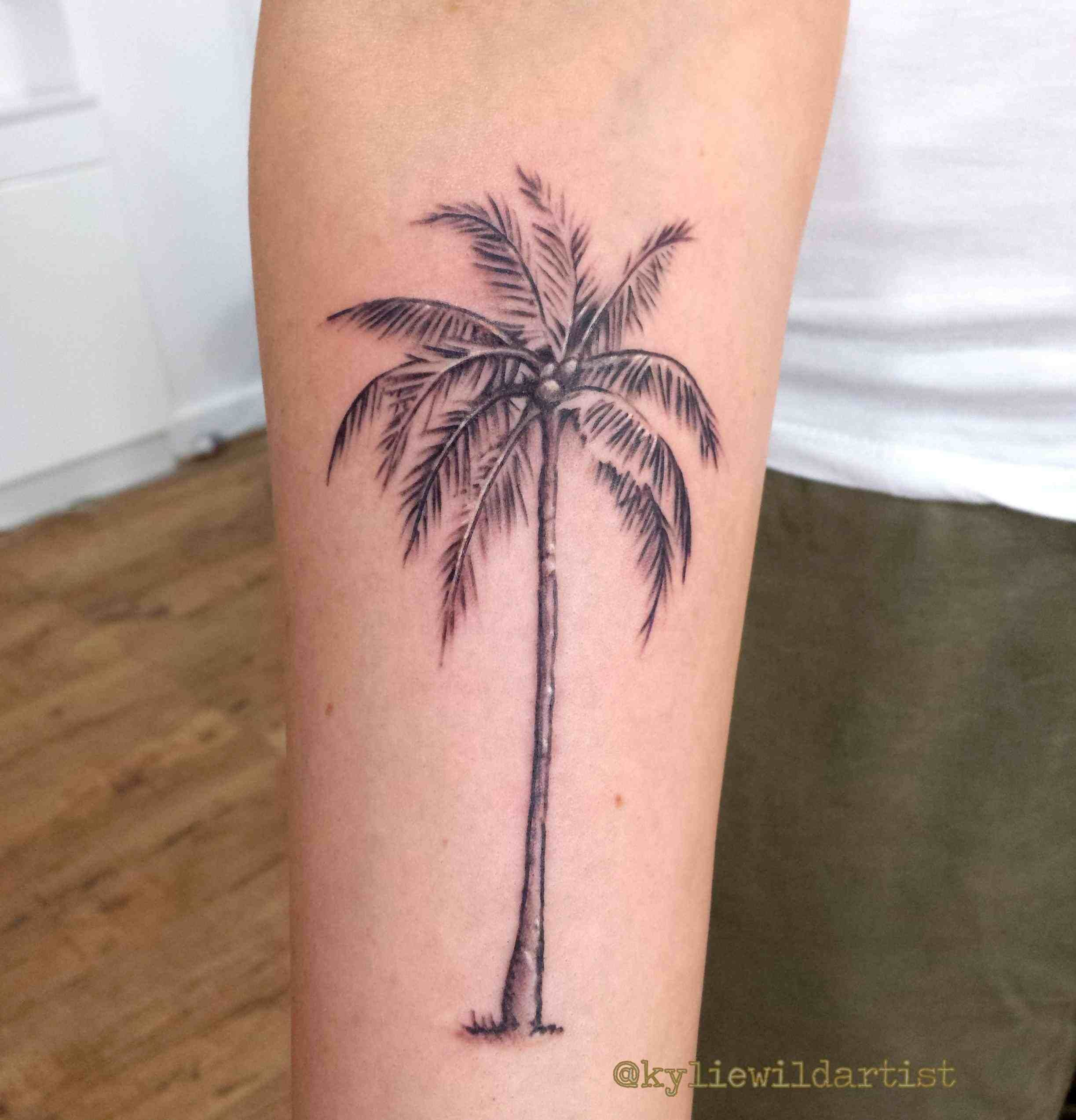 Image result for palm tree tattoo Palm tattoos, Tree