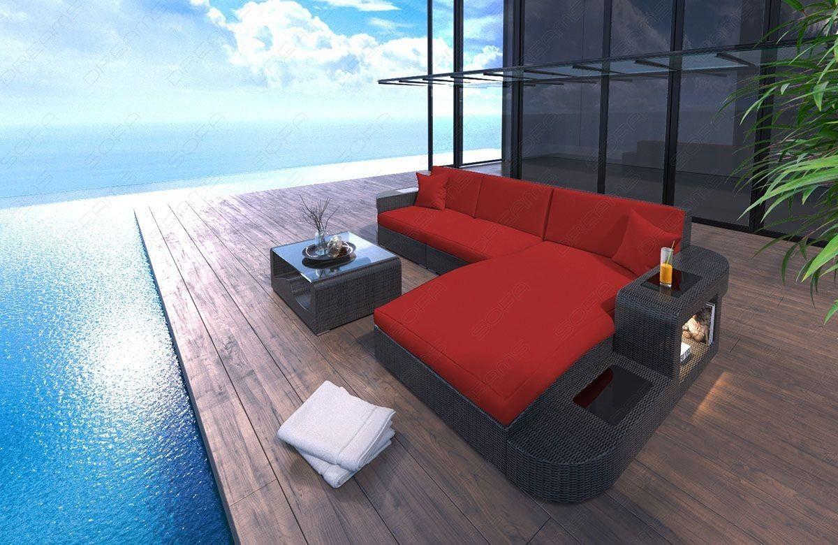 Rattan Sofa Wave L In 2020 Gartenmobel Lounge Set Moderne Gartenmobel Gartenmobel