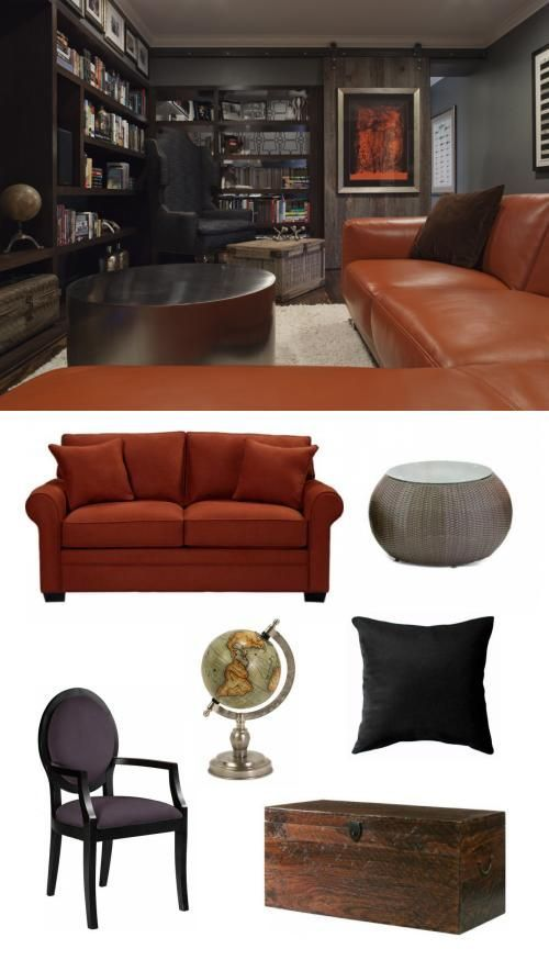Interior Design Online: #ManCave. #interiordesign #adoredecor #bachelorpad