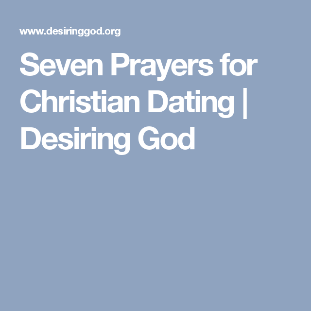 Christian articles on dating