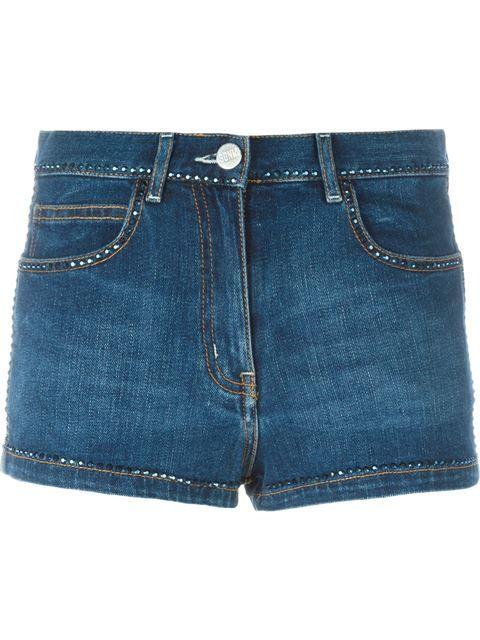 SONIA RYKIEL Denim Shorts. #soniarykiel #cloth #shorts