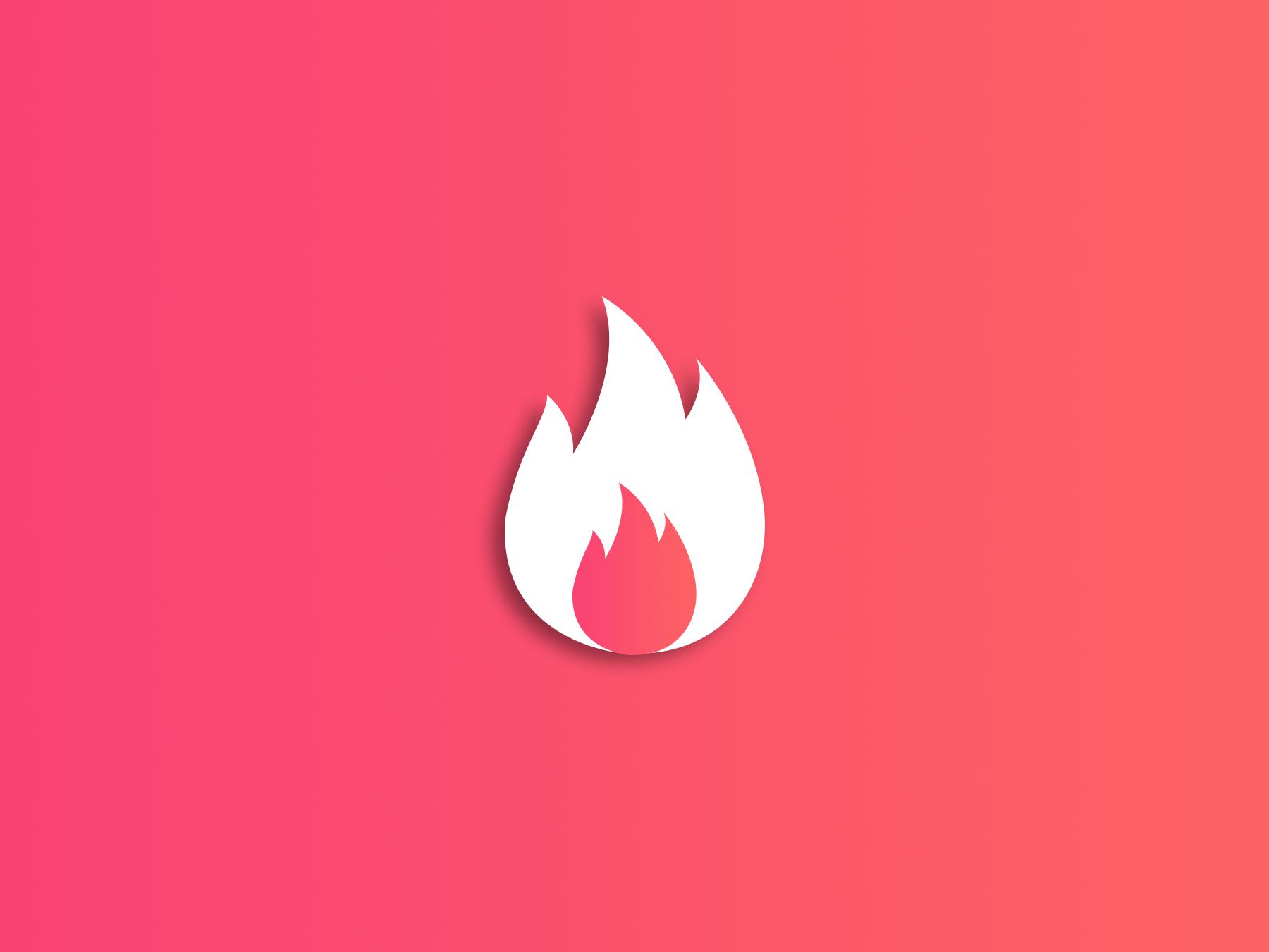 Logo, App, icon, Appicon, Symbol, Shape, Android, Tinder