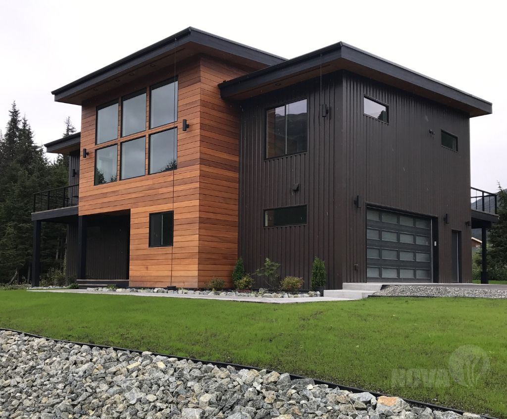 Nova Batu Hardwood Siding Modern Ski Resort Alaska Wood And
