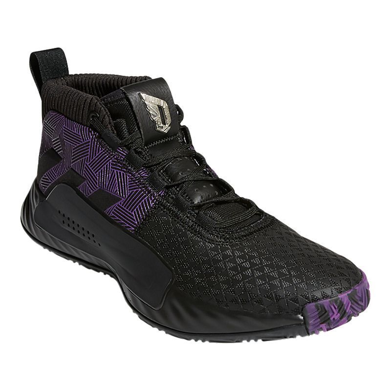adidas Men's Marvel Black Panther Dame 5 Basketball Shoes