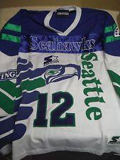Seattle Seahawks vintage Starter Jersey size XL