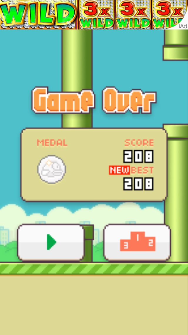 Look At My New High Score On Flappy Bird Interesting Flappy