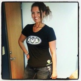 Women's scoop neck BatHawk tee. #Seattle #Seahawks #gohawks Shockwave Tees - Shockwavetees.com