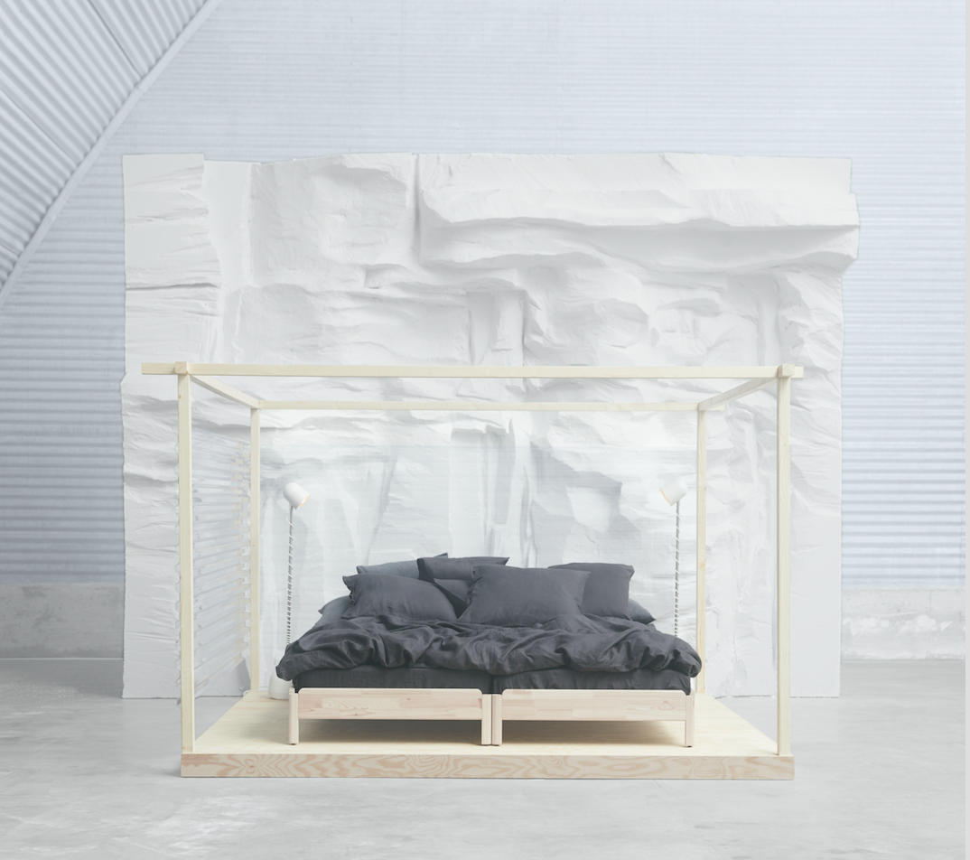 Ikea S New Stackable Bed Can Be Used In 4 Different Ways Ikea Bed Ikea Design Bed