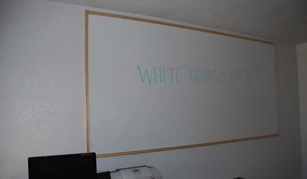 Home Depot Sells Dry Erase Board Material Which Is Just A Melamine Surface Dry Erase Board White Board Dry Erase