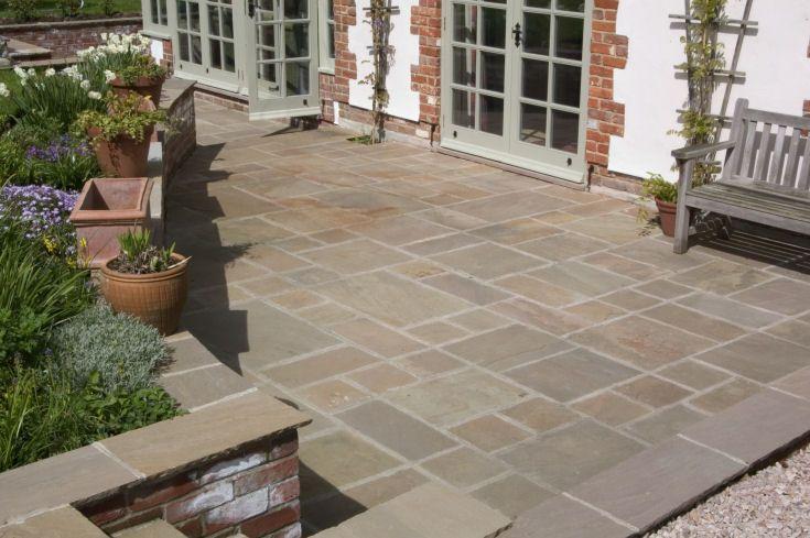 sandstone pavers Exterior Pinterest Sandstone paving