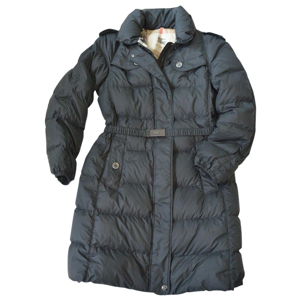 BURBERRY Blue Coat