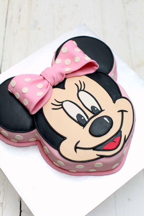Sweet and sour minnie mouse cake tutorial cakes and for Minnie mouse cake template free