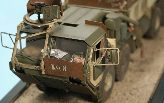 Oshkosh M977 HEMTT Guntruck (Cab)