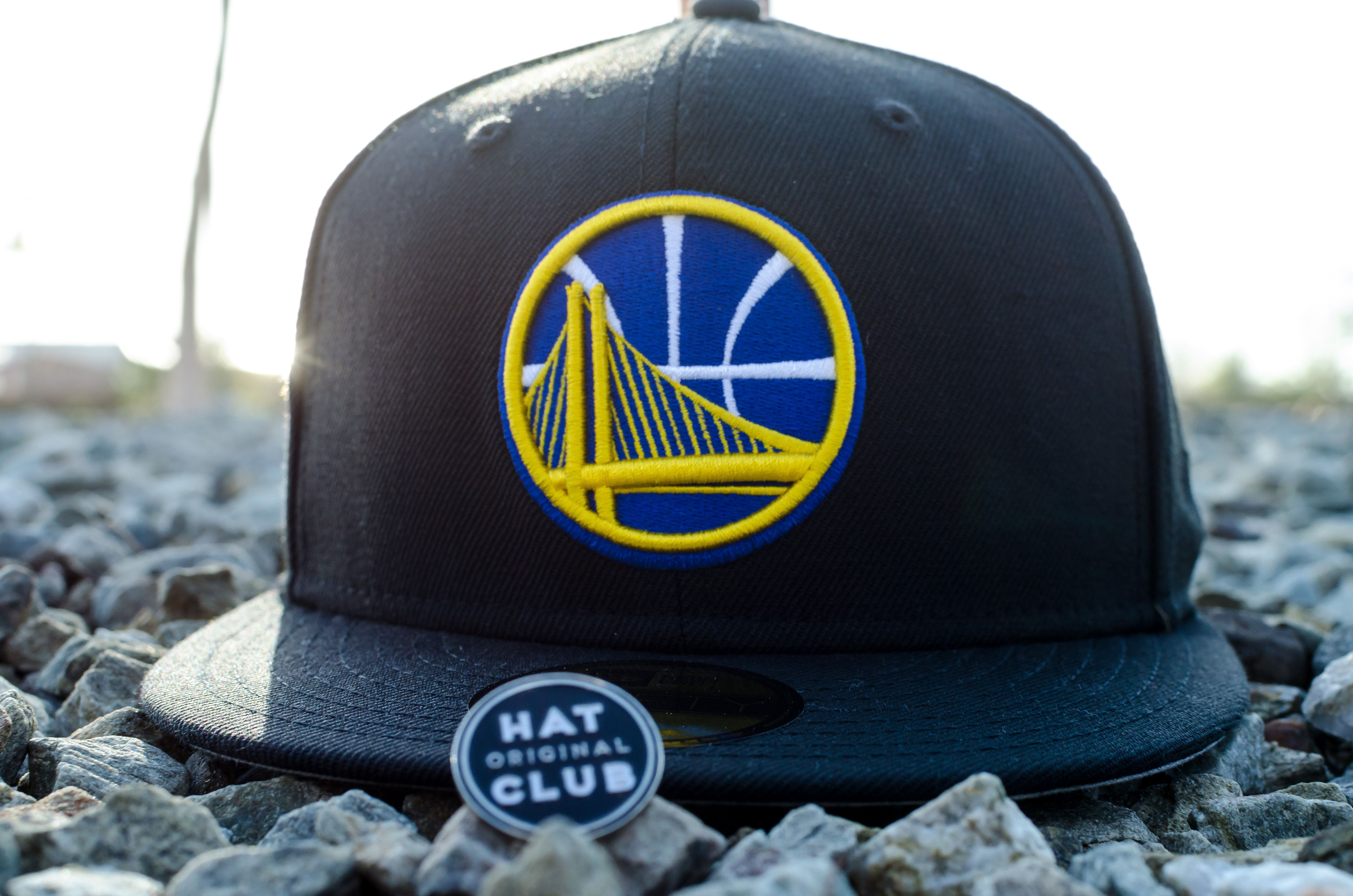cda1896c9355b New Era Golden State Warriors Fitted Hat. Hat Club Original.