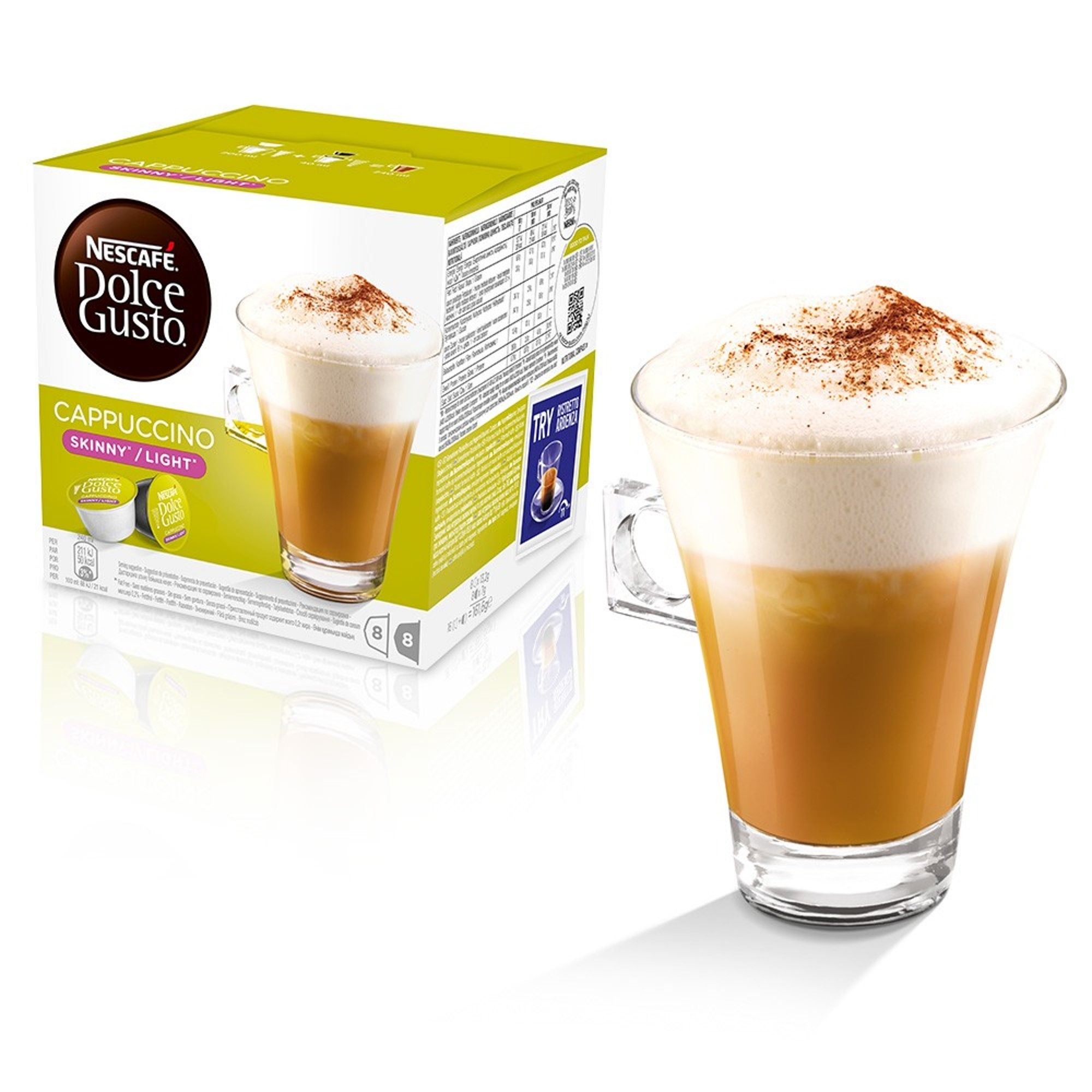 Nescafe Dolce Gusto Light Skinny Cappuccino Coffee Pods