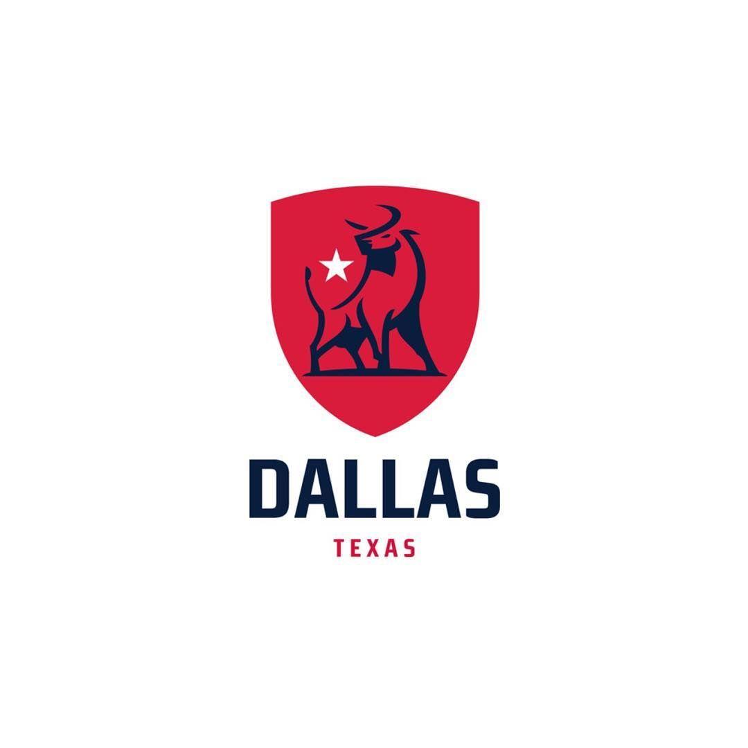 Follow us @logoinspirations Dallas Texas by @frazdav - LEARN & EARN logocore.com/lessons - BEAUTIFUL TRAVEL BRANDING @travelbranding @travelbranding