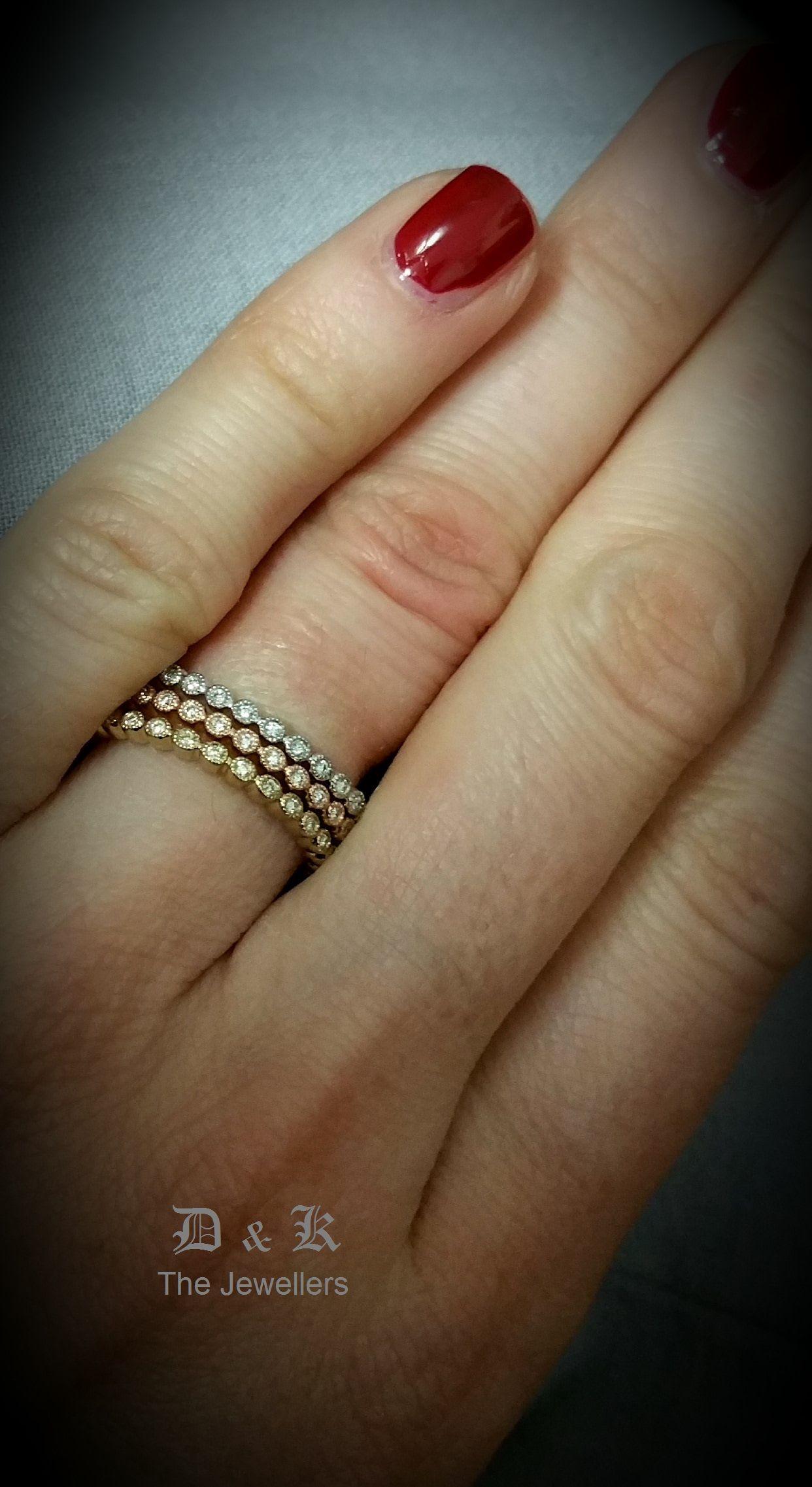 Fresh 9ct Gold Celtic Wedding Rings