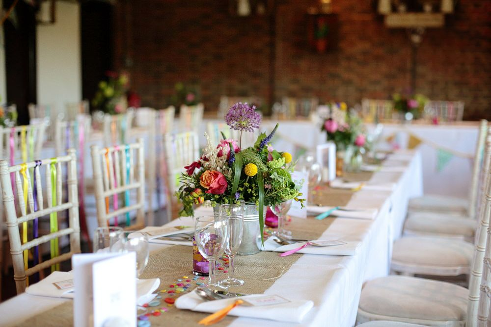 A colourful village hall wedding in kent with lots of diy and a tea a colourful village hall wedding in kent with lots of diy and a tea length wedding gown photography by dasha caffrey junglespirit Image collections