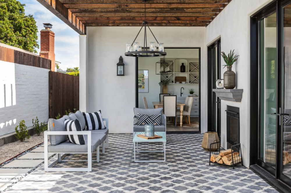 Pin On Tiled Patio