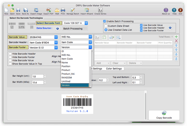 63% Off Coupon on DRPU Mac Barcode Label Maker Software