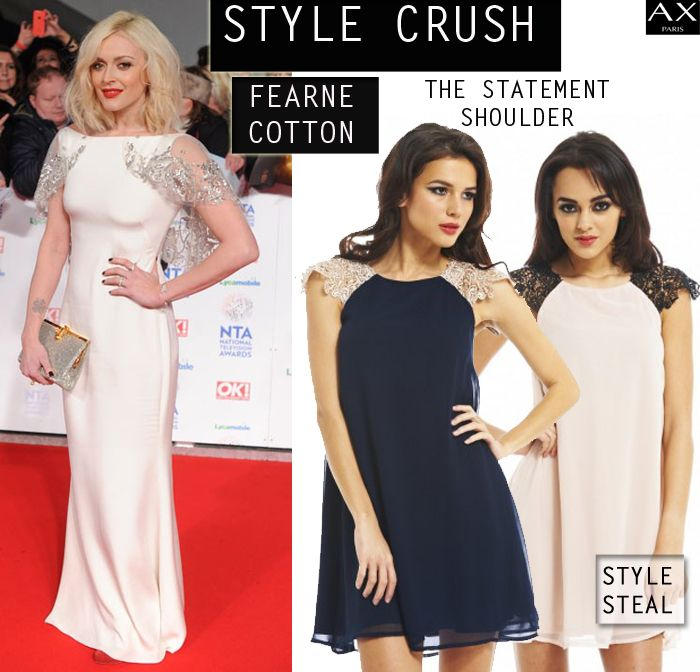 The Statement Shoulder! Get the red carpet glamour look with our New looks