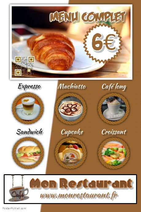 Pin By Posterfrance Gratuit On Flyer Pour Restaurant