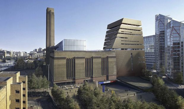 Herzog De Meuron Design Tate Modern Museum Extension Modern Museum Architectuur